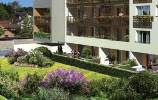Jolis jardins privatifs pour les rez-de-chaussée