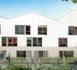 Nouvel ensemble résidentiel situé rue Delbos à Bordeaux, quartier Bassins à Flot (1001DM)