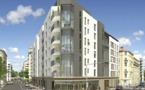 Ensemble immobilier d'appartements neufs bbc Effinergie à Lyon 7ème (ref:249OC)