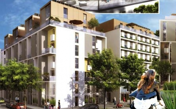 Appartements neufs label bbc à Lyon 7ème (ref:238EN)
