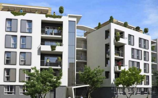 Réalisation immobilière (appartements neufs) bbc effinergie à Lyon 7ème (ref:244CN)