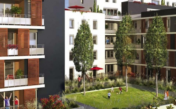 Appartements neufs bbc Effinergie à Lyon 9ème (ref:421NA)