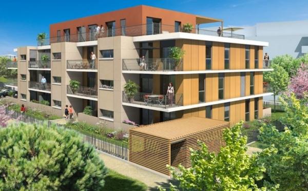 Appartements neufs à Castelnau-le-Lez, situés rue des Anémones (768RU)