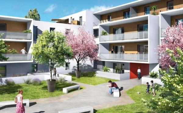 Résidence située en plein centre-ville de Castelnau-le-Lez (776RU)