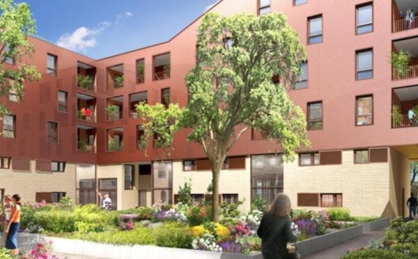 La Courrouze à Rennes, appartements neufs situés rue Jules Maniez (1020CI)